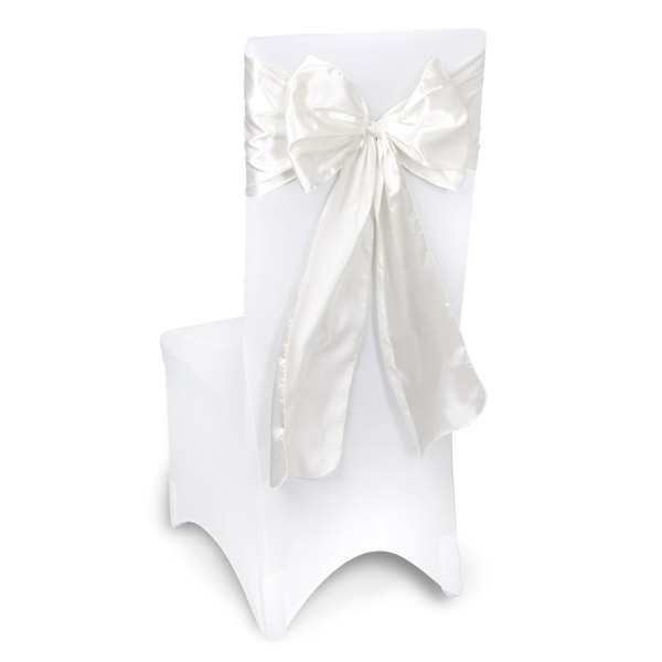 White Chair Sashes Event Planners Surrey