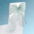 Sage Green Sheer Chair Sashes Event Planners Surrey