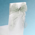 Silver Sheer Chair Sashes Event Planners Surrey