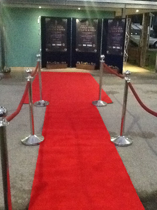 red carpet hire hampshire sirrey berkshire