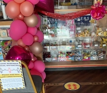 Event Planners Woking shop fully stocked