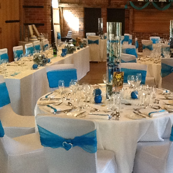 Chair cover hire Event Planners Surrey