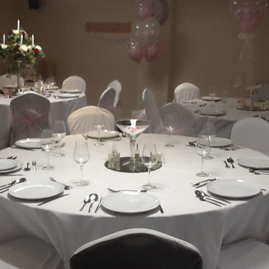 Chair cover hire corporate events Surrey